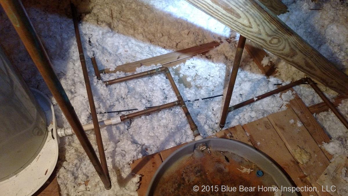 Home Inspector Tallahassee - plumbing